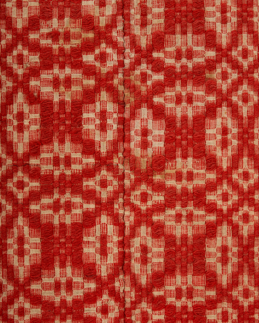 Lot 658: East TN Crib Quilt & Middle TN Coverlet