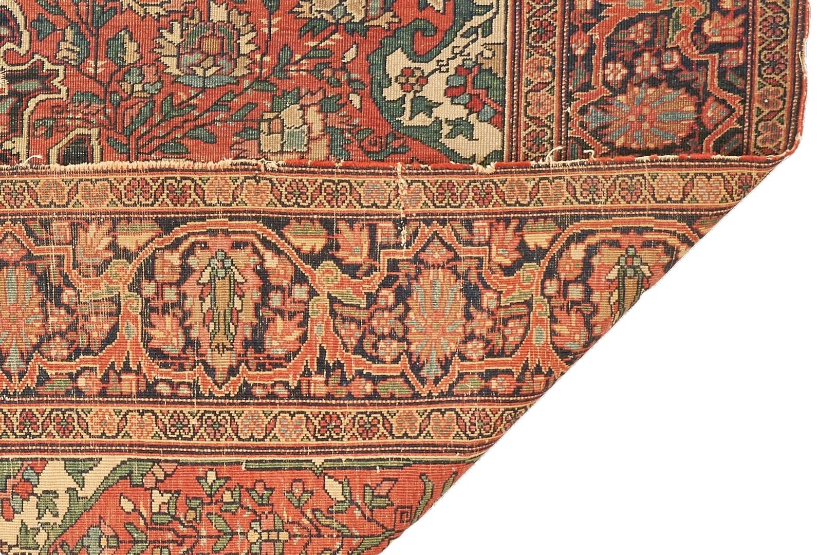Lot 663: Persian Farahan Sarouk Rug