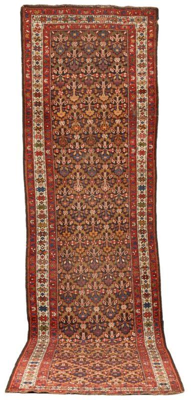 Lot 665: Persian Kurdish or Hamadan Wool Runner