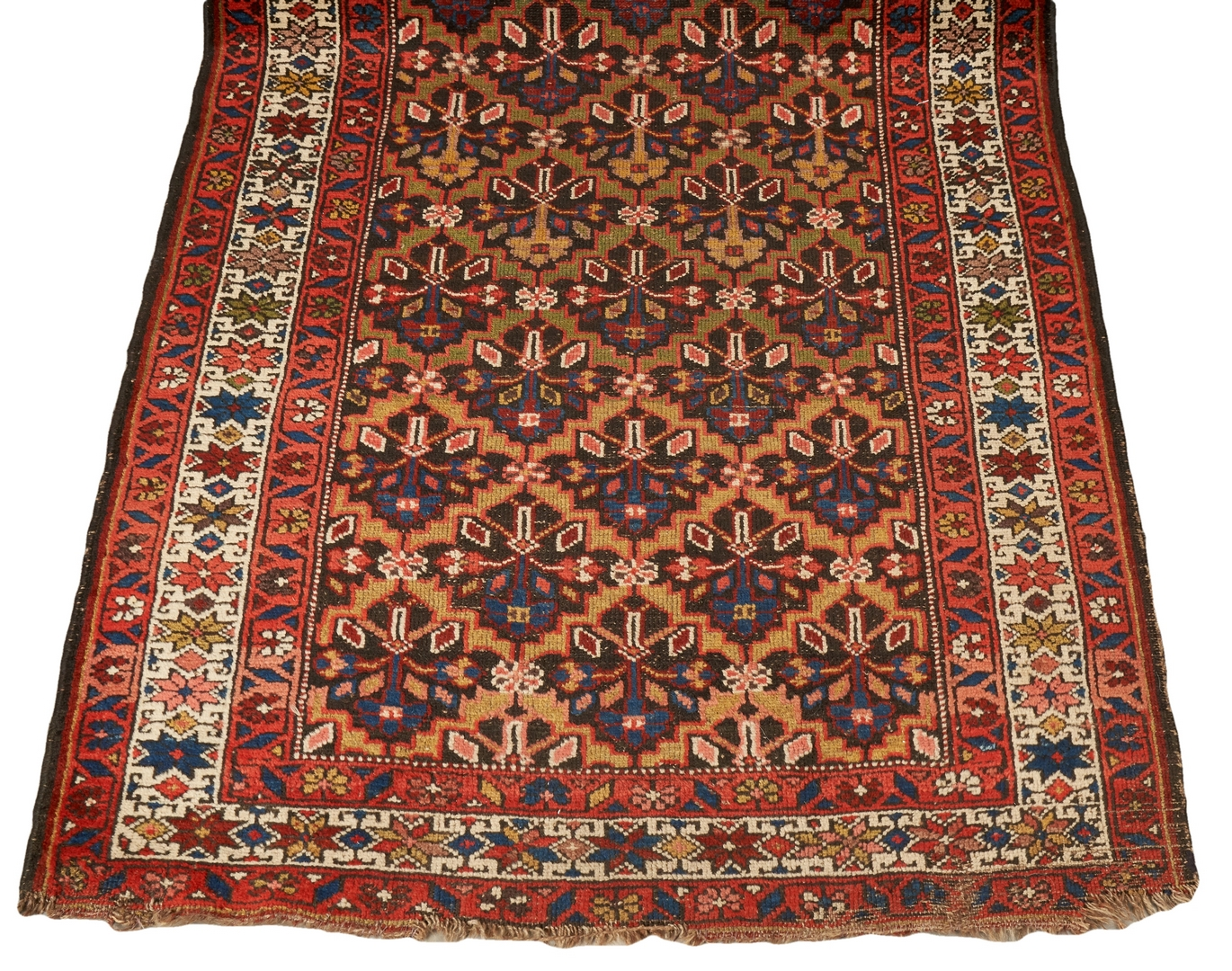 Lot 665: Persian Kurdish or Hamadan Wool Runner