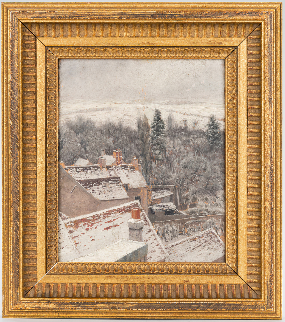 Lot 688: James Pattison O/B, View From Artist's Studio