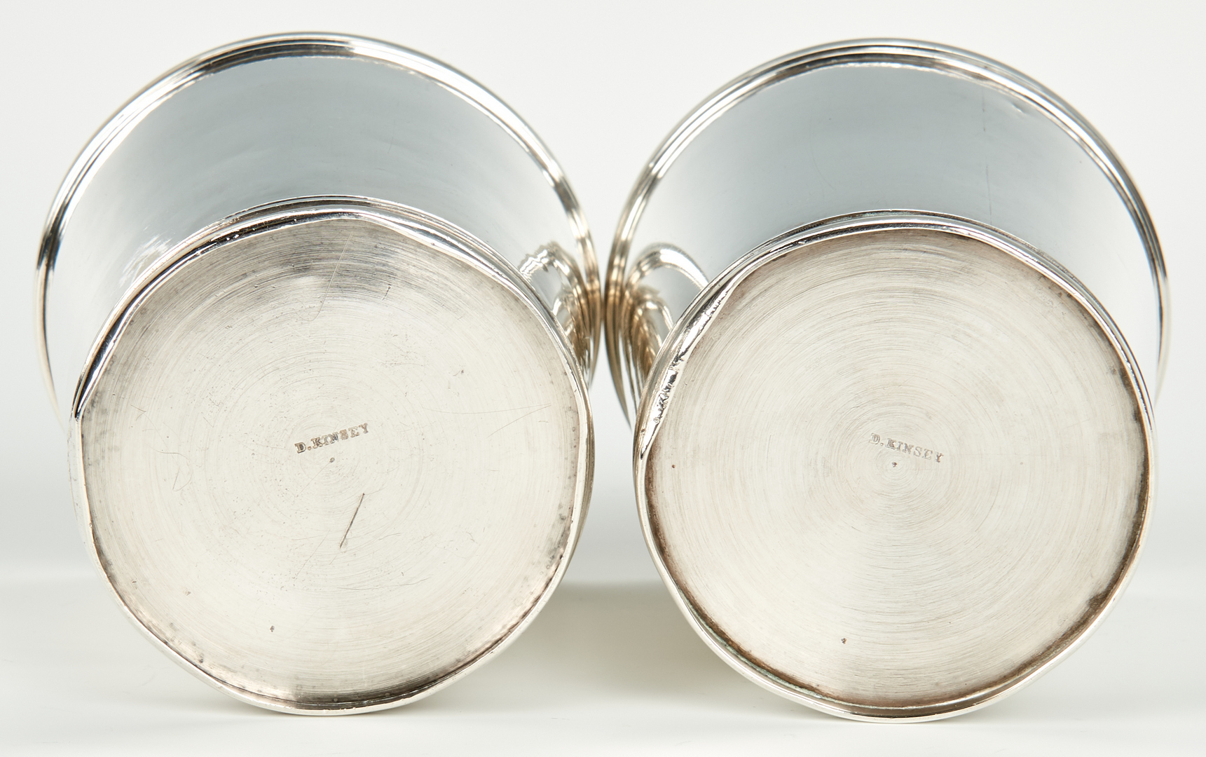 Lot 69: 4 Mint Julep Cups inc. Kinsey, Baldwin