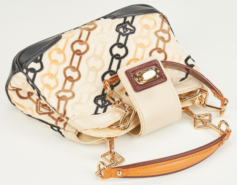 """Lot 702: Louis Vuitton """"Velvet Chains"""" Mini Linda Handbag, Marc Jacobs"""