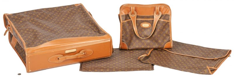Lot 703: 4 Louis Vuitton Luggage Items