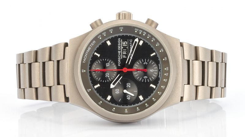 Lot 715: Porsche Design by Eterna Men's Titanium Automatic Watch