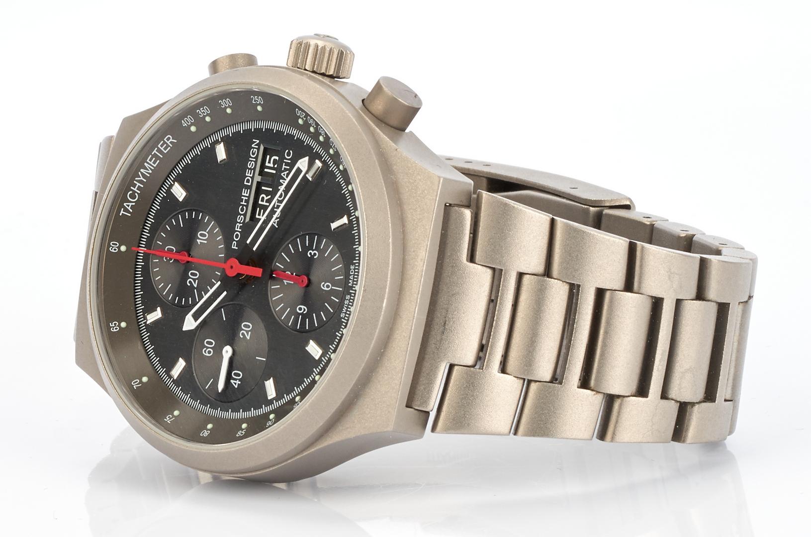 Lot 715: Porsche Design by Eterna Men's Titanium Automatic Watch