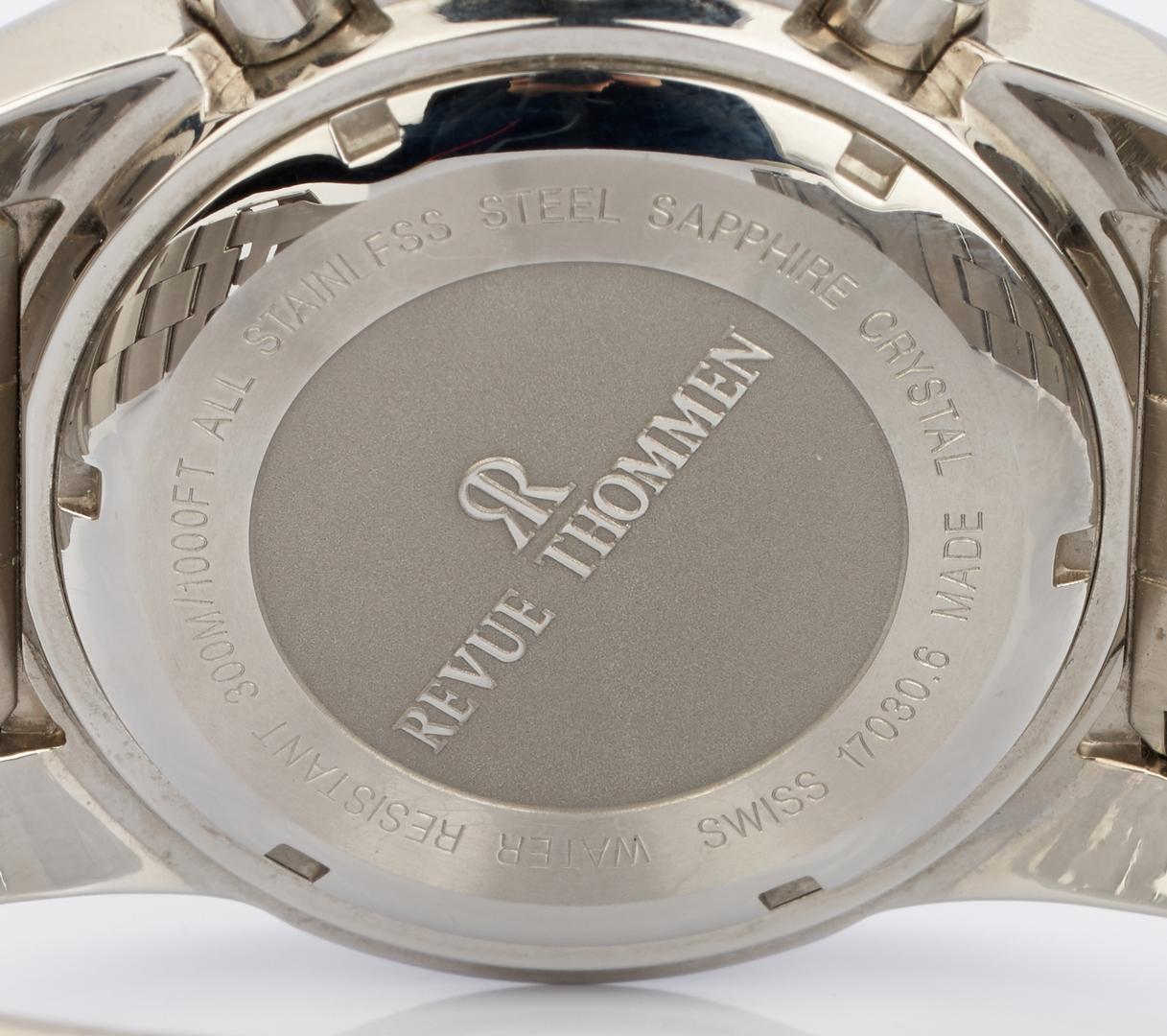 Lot 716: Men's Revue Thommen Diver Professional Automatic Chronograph