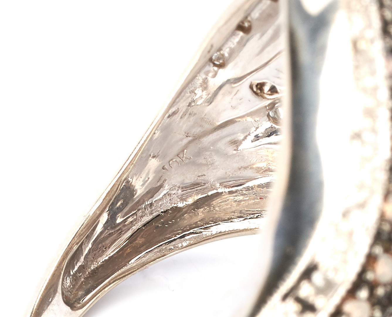 Lot 722: 2 Gold & Colored Gemstone Rings, incl. David Morris