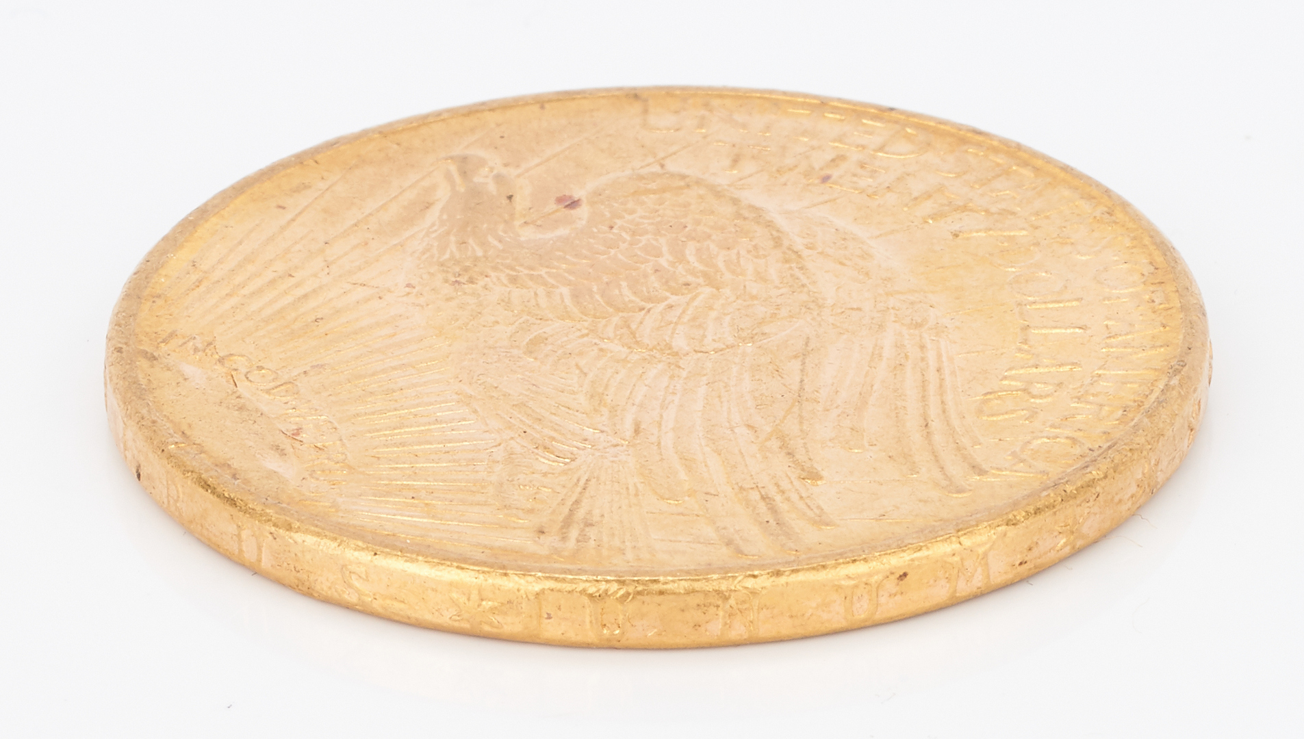 Lot 733: 1915 $20 Saint-Gaudens Gold Coin