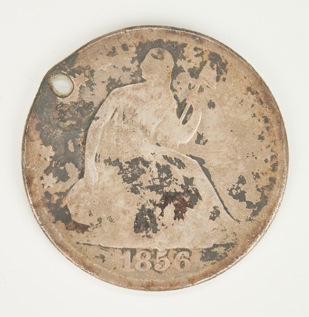 Lot 739: 142 U.S. Silver Half Dollars, incl. Seated & Walking Liberty