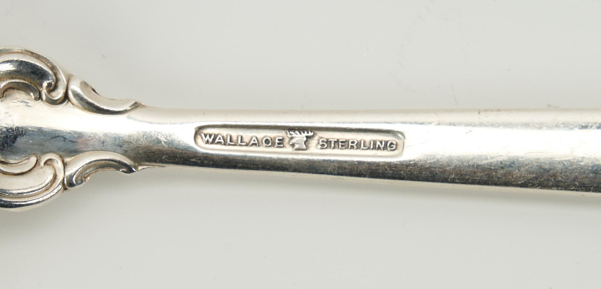 Lot 745: 69 Pcs. Towle Legato Sterling Silver Flatware