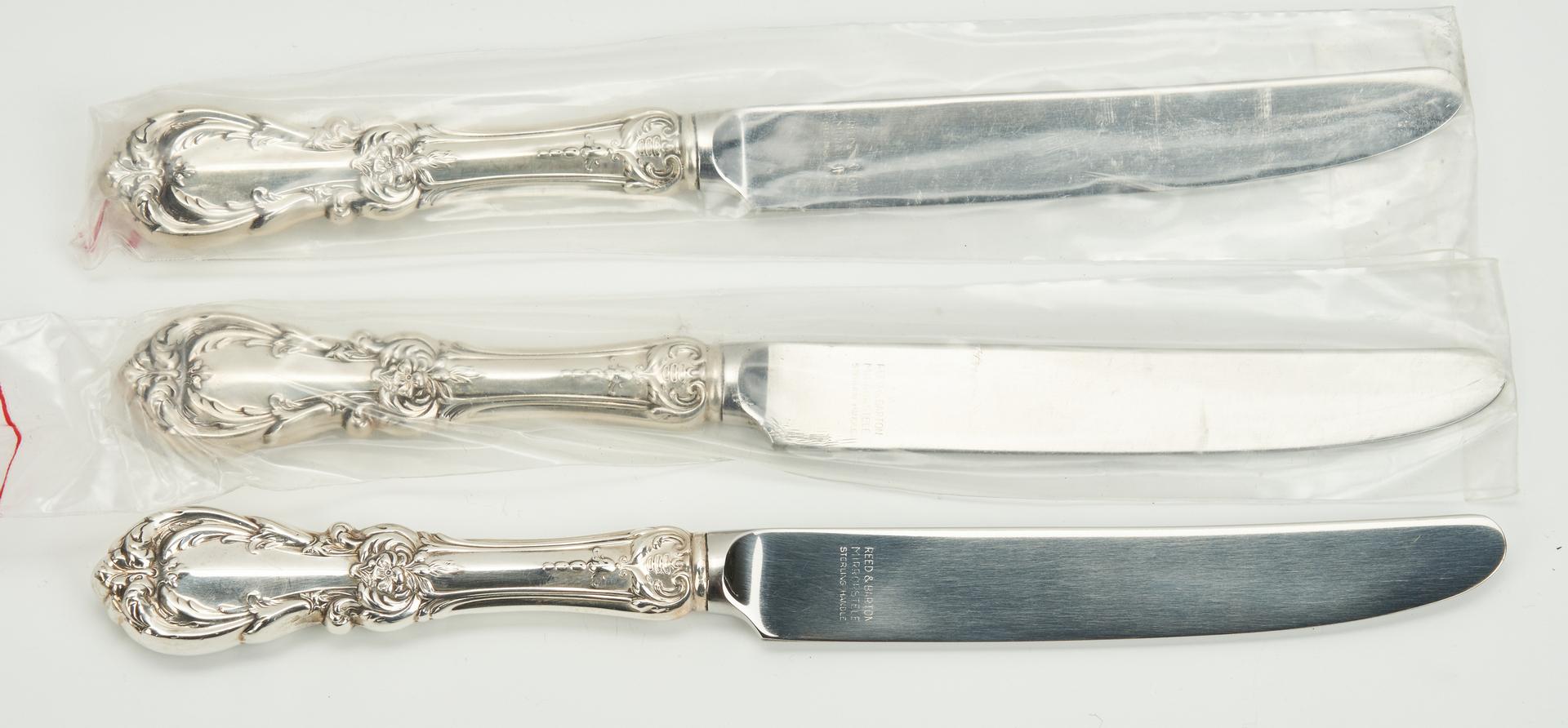Lot 746: 46 Pcs. Sterling Silver, incl. Reed & Barton Francis I