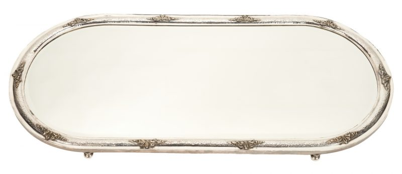 Lot 758: Silverplated Table Plateau