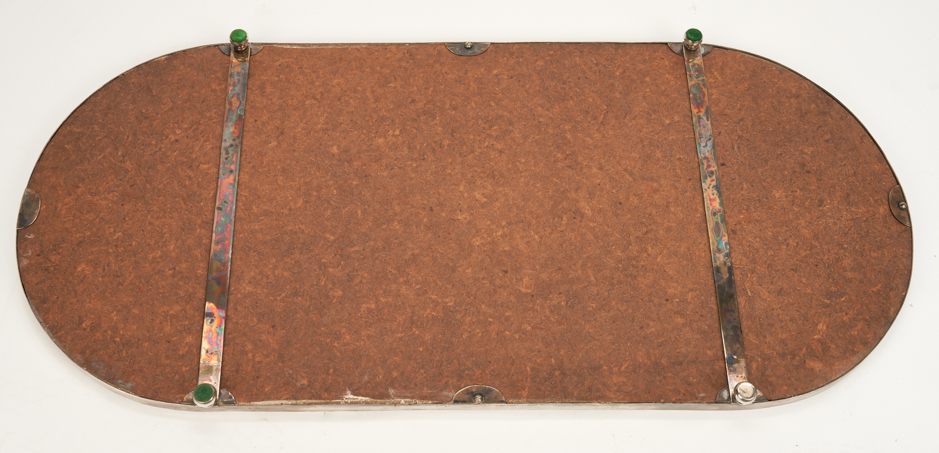 Lot 758: Silverplated Table Plateau