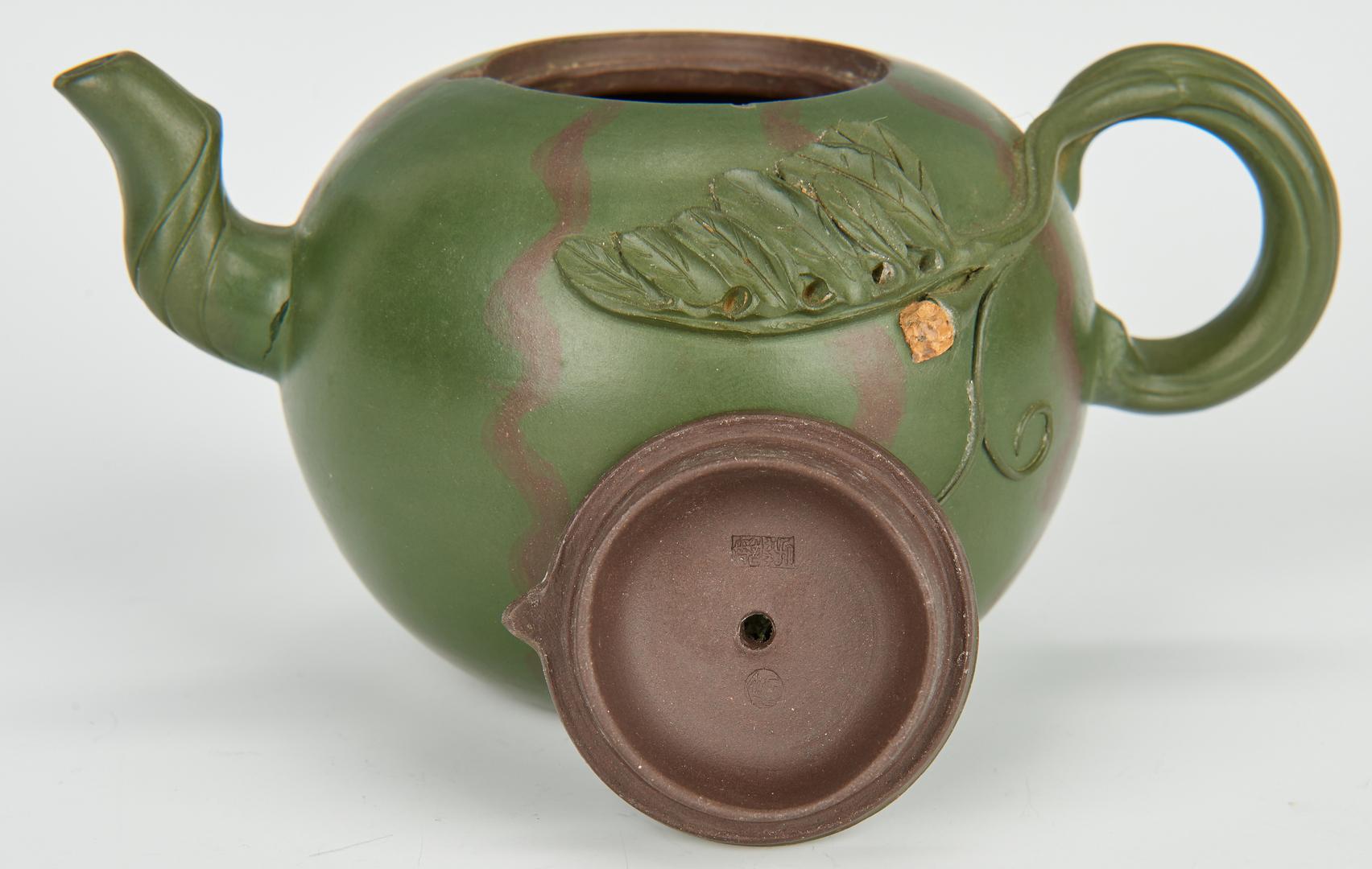 Lot 761: Attr. Gao Jianfang, Yixing Tea Set