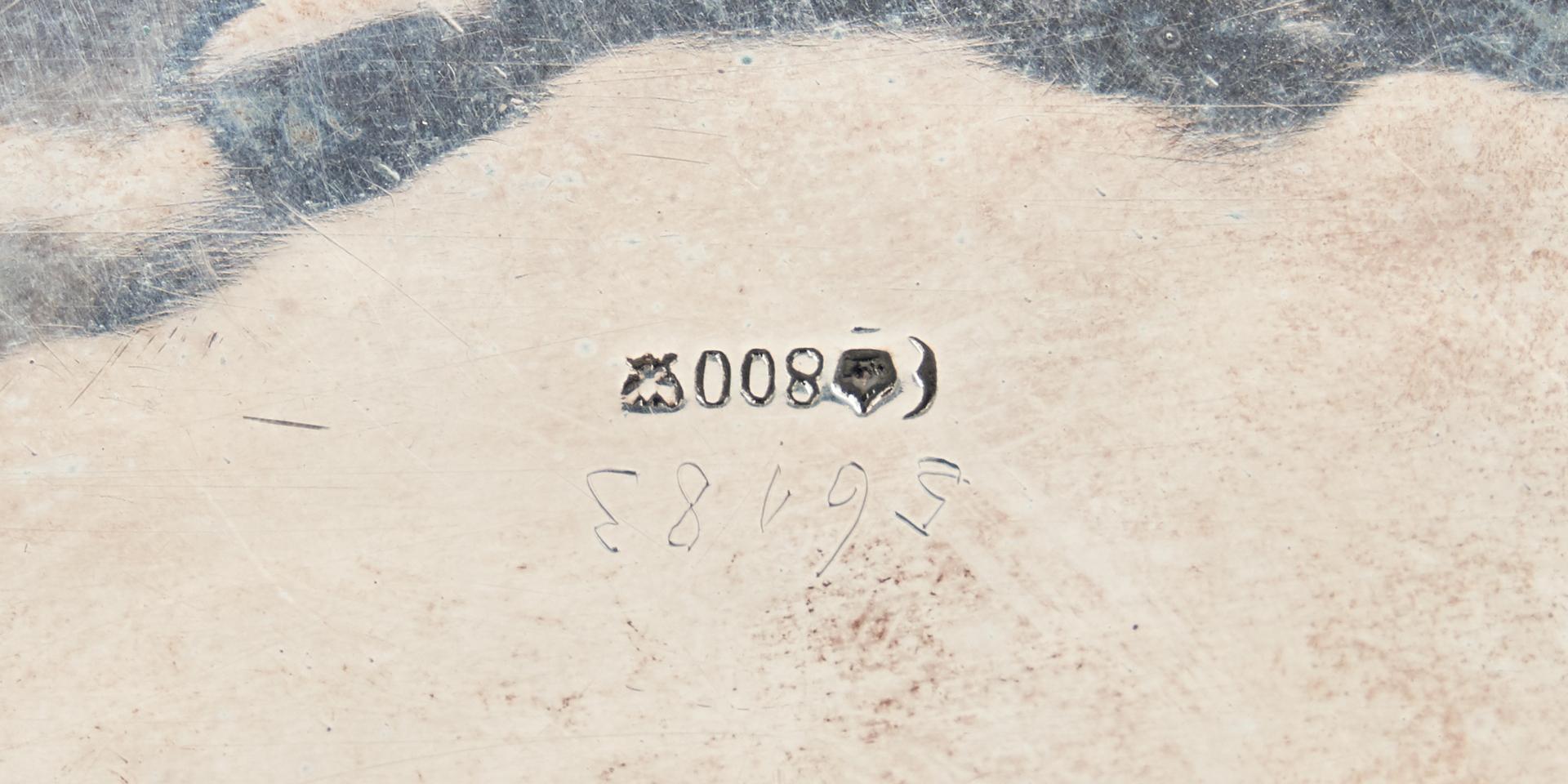 Lot 789: 4 pcs silver inc. Bruckman & Sohne Jugendstil