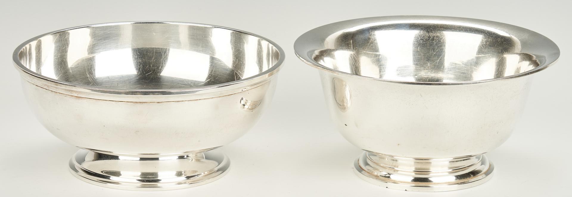 Lot 805: 2 Sterling Golf Trophy Bowls