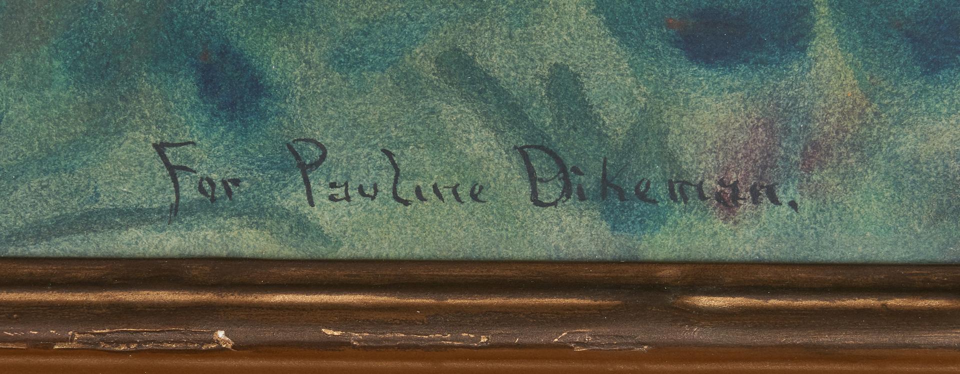 Lot 810: Robert Burns Wilson KY Landscape Watercolor