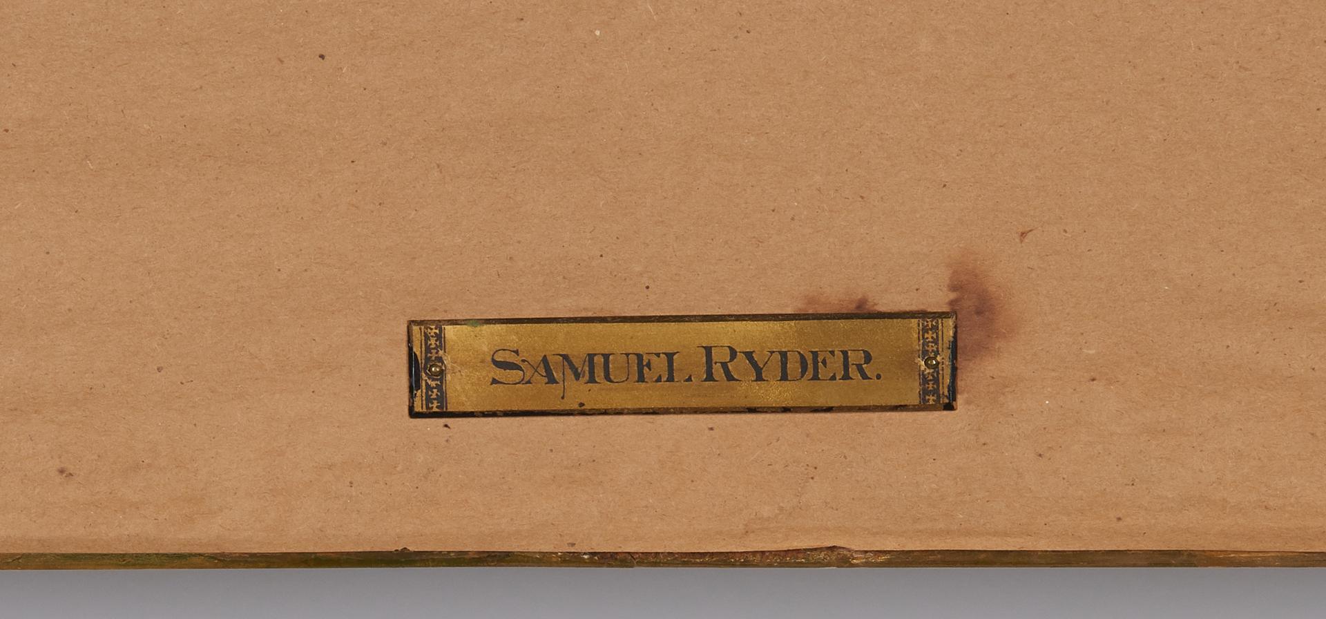 Lot 833: Sameul or Samuel Ryder O/C Landscape