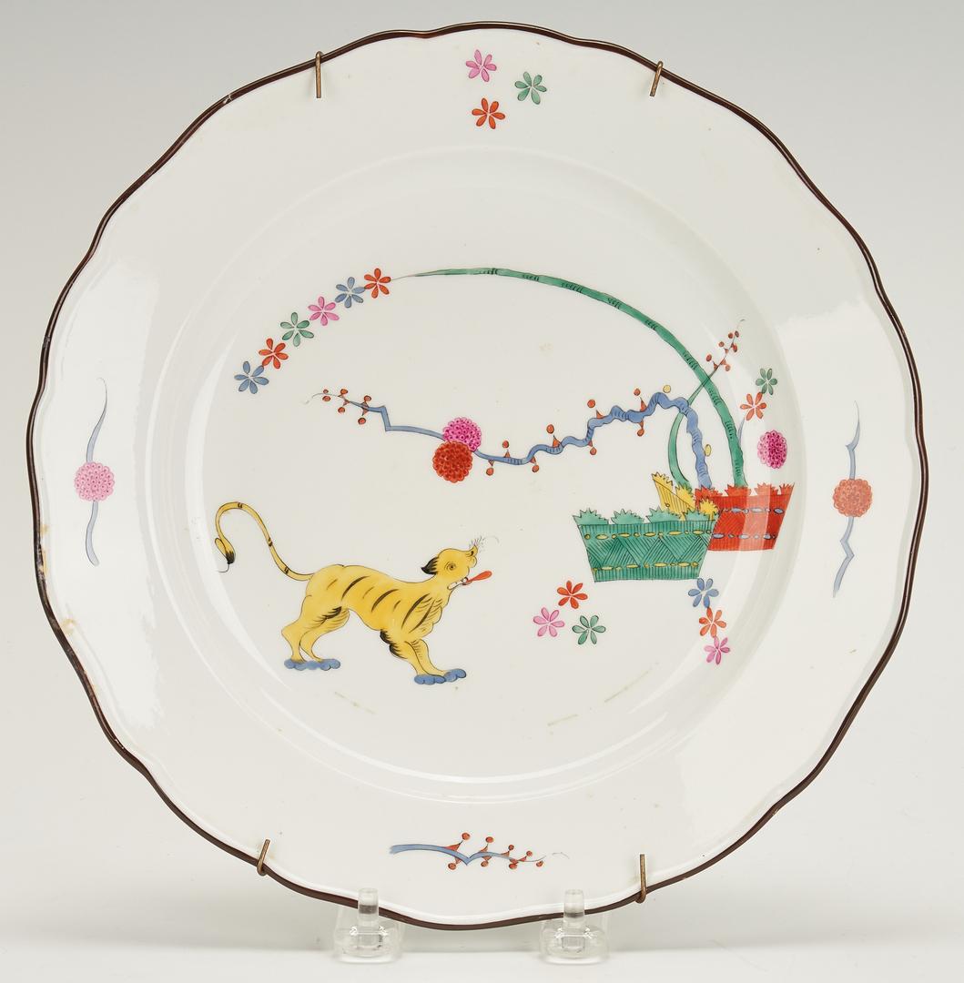 Lot 850: Meissen Kakiemon Plate, Ashtray, Switchplate