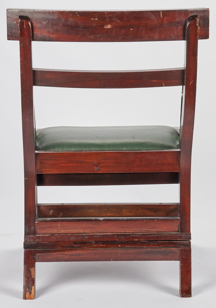 Lot 868: Library Ladder Chair, Convertible
