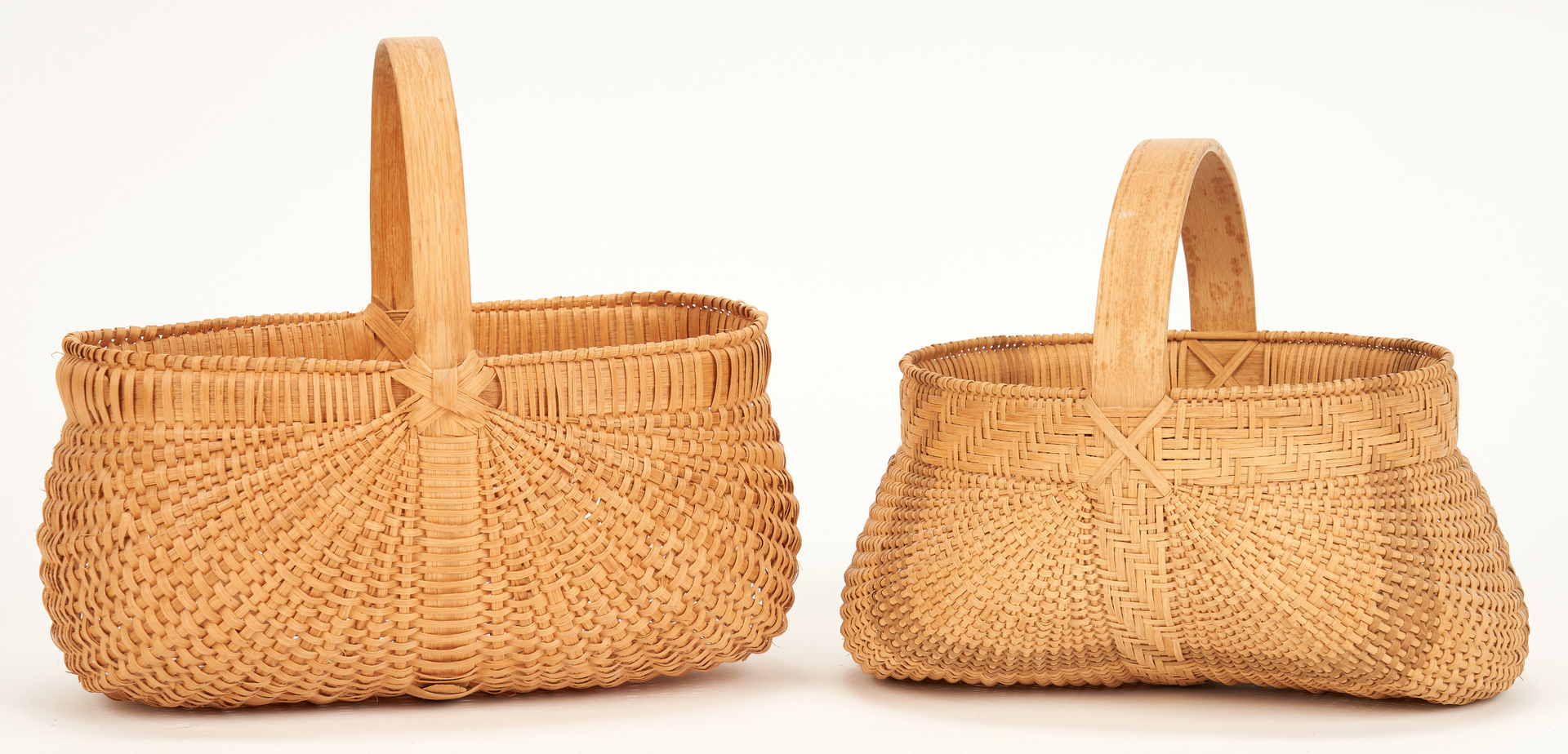 Lot 888: 6 Baskets incl. 2 Prater Family Baskets