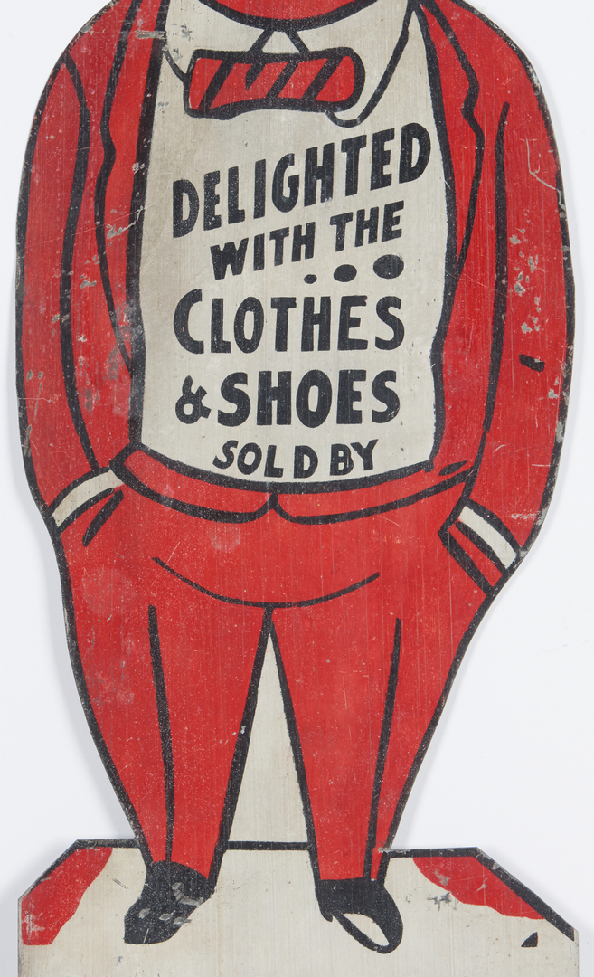 Lot 894: Mid TN Hereford Brothers Advertising Sign