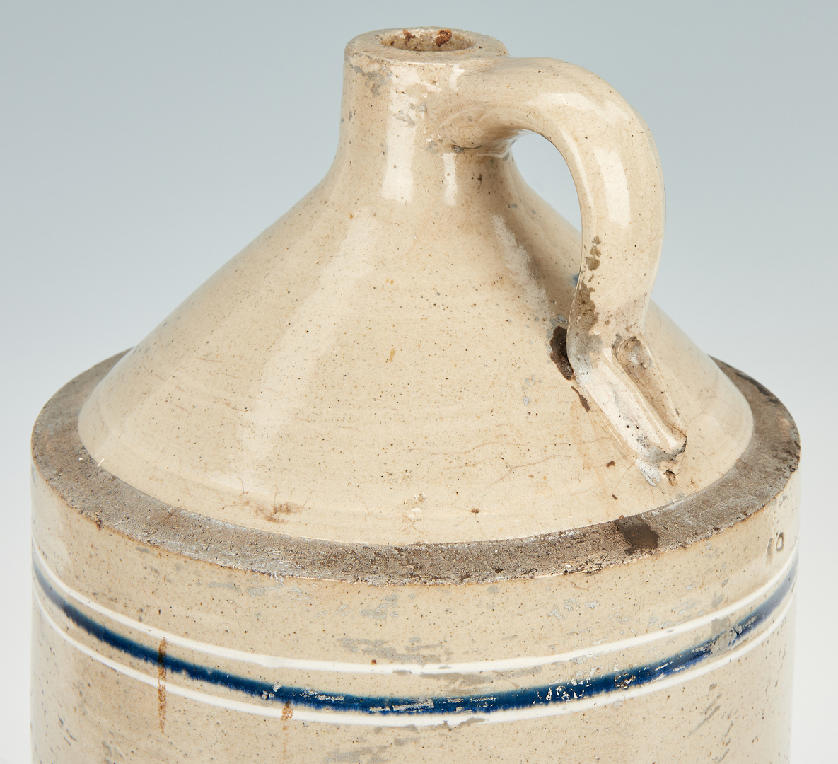 Lot 895: Nashville Stoneware Advertising  Pottery Jug
