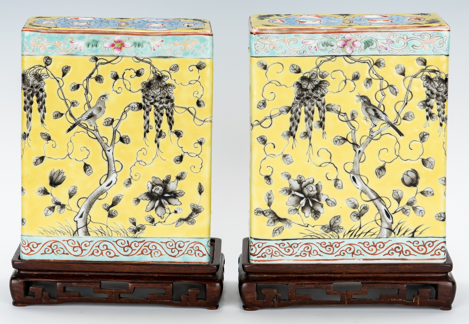 Lot 8: Chinese Porcelain Pillows and Bowl