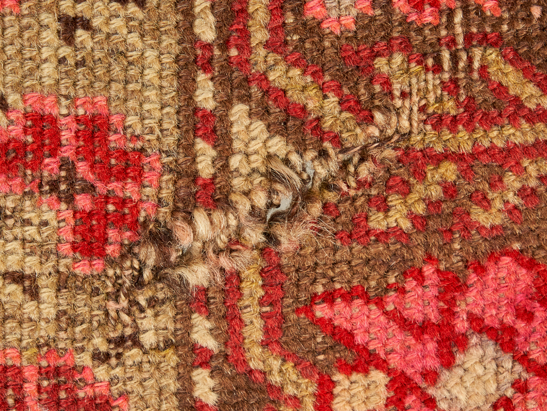 Lot 901: Kurdish Village Rug with Rose Design