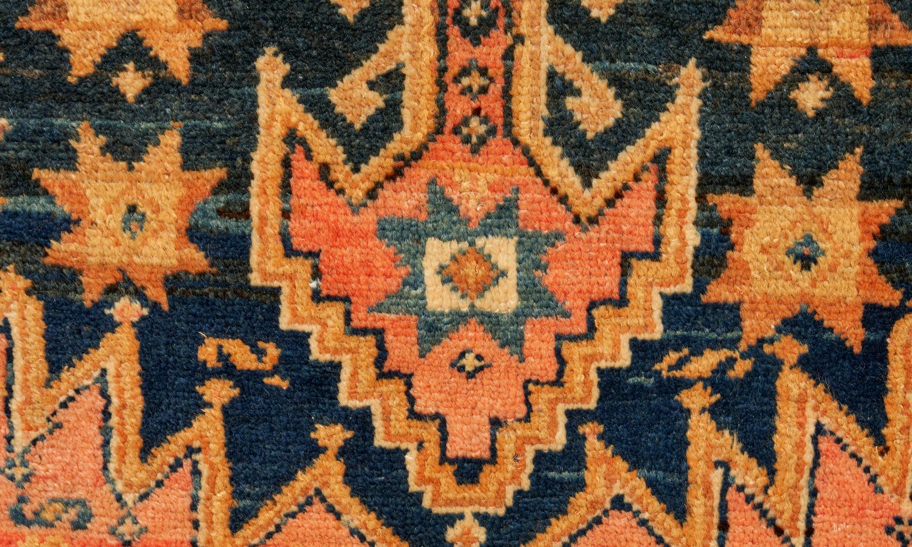 Lot 902: 2 Rugs: Caucasian Turkish and Hamadan