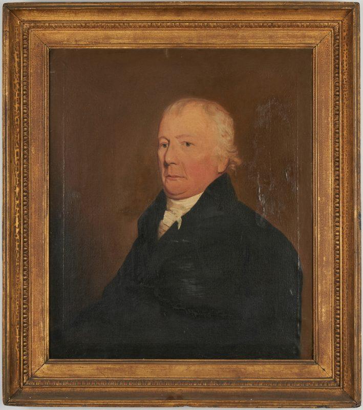 Lot 907: Portrait of William Stuart, Maryland
