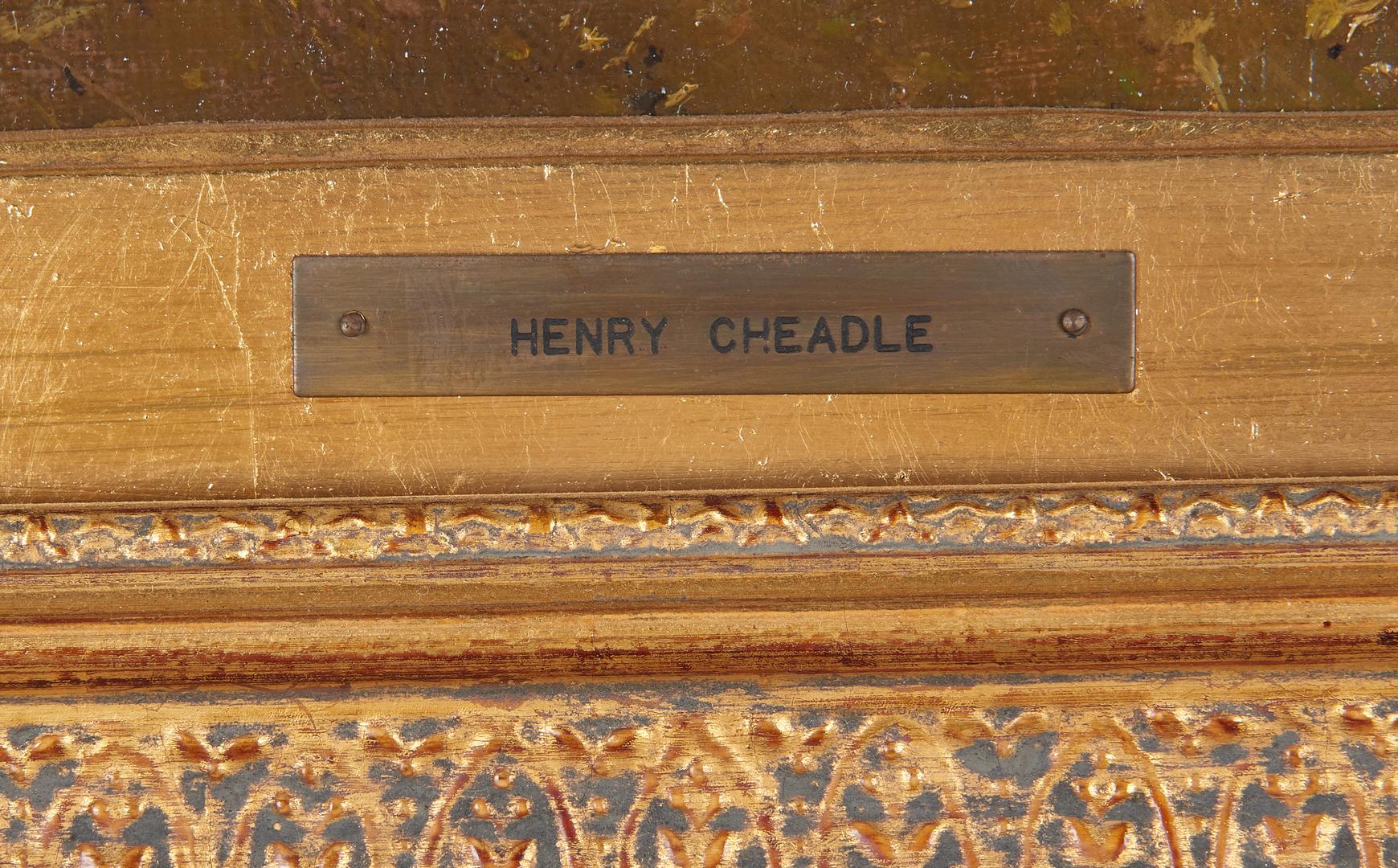 Lot 915: Henry Cheadle O/C, River Landscape