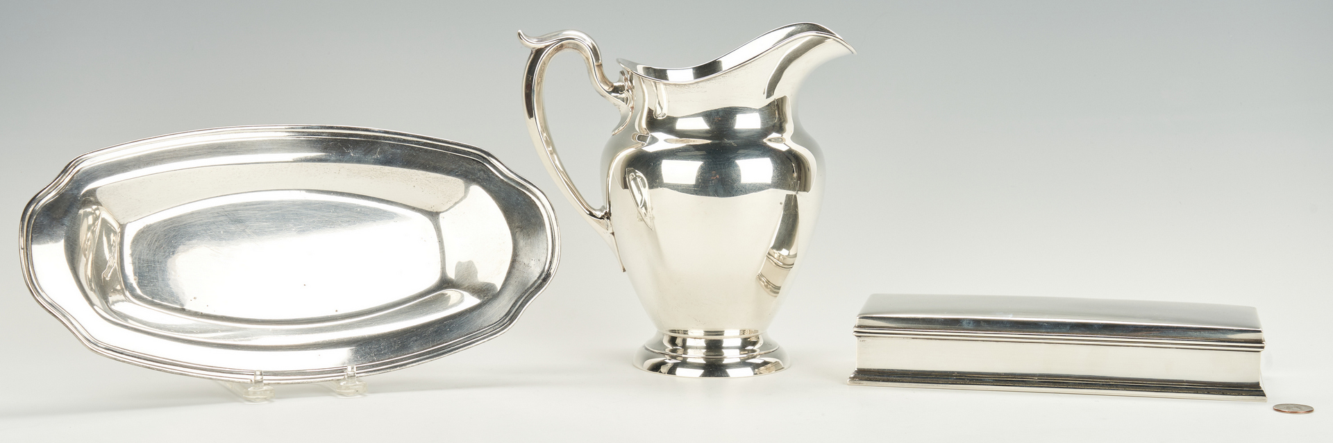 Lot 944: 3 Sterling Silver Holloware Items, incl. Gorham