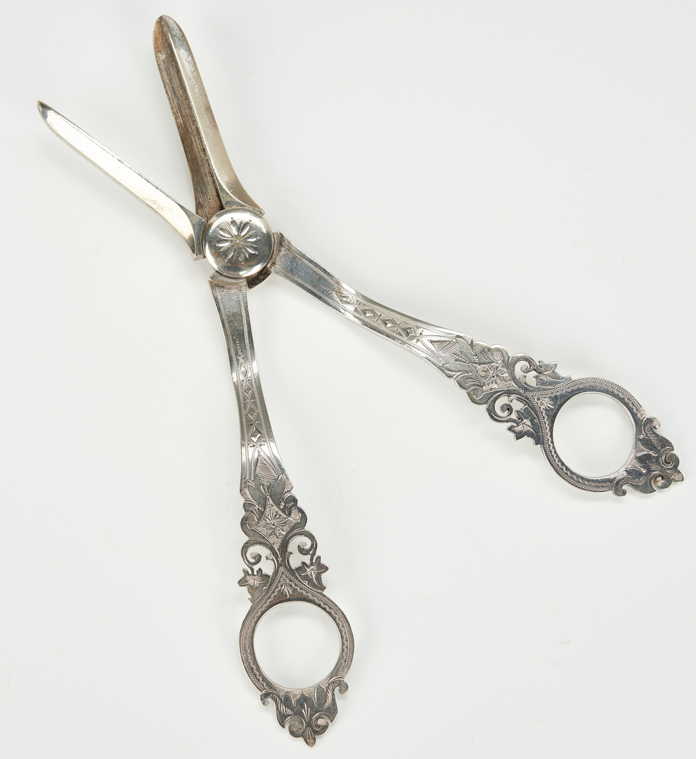 Lot 960: 22 Silver Items incl. Napkin Rings, Owl Opener