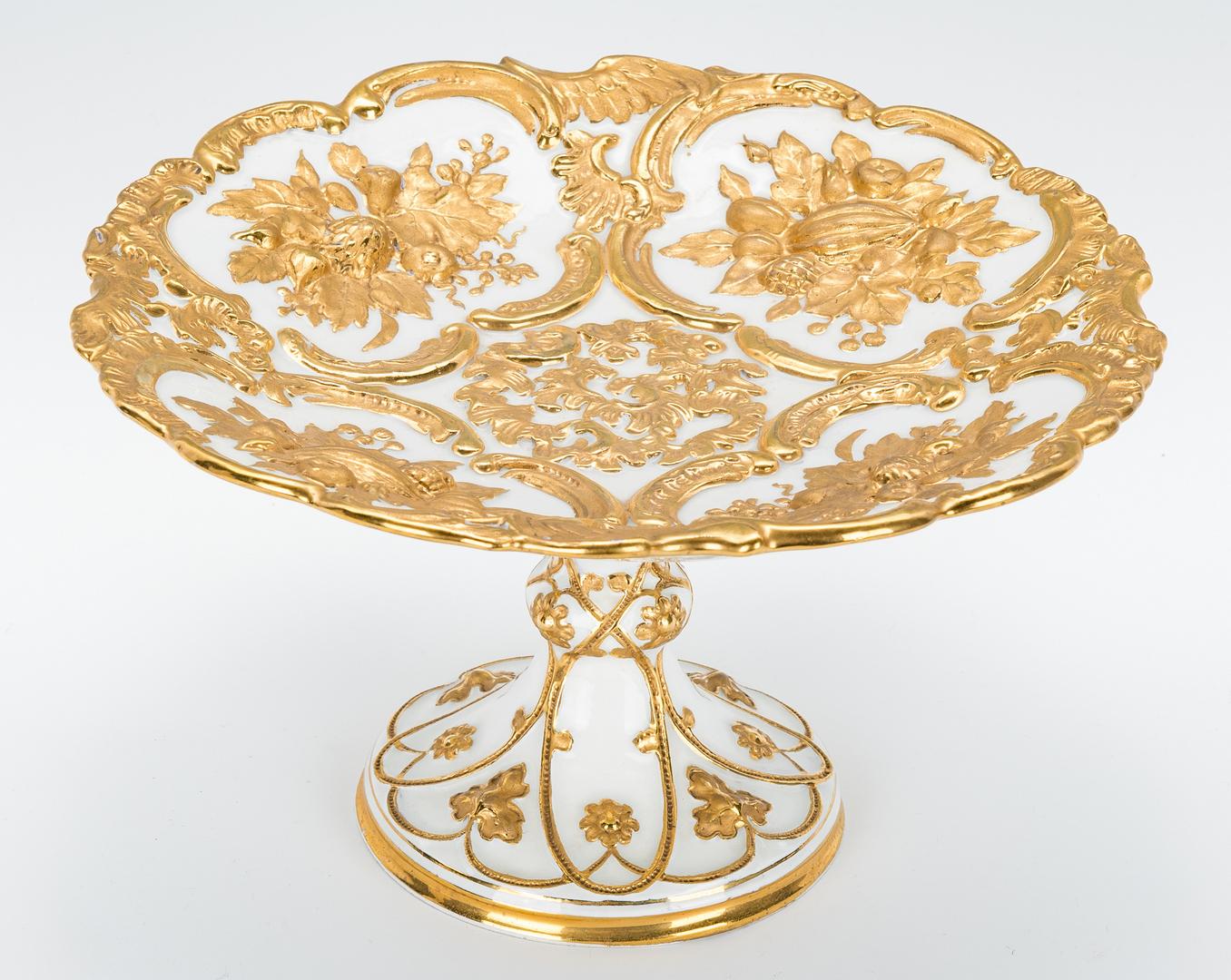 Lot 972: 3 European Decorative Items, incl. Meissen, Dresden
