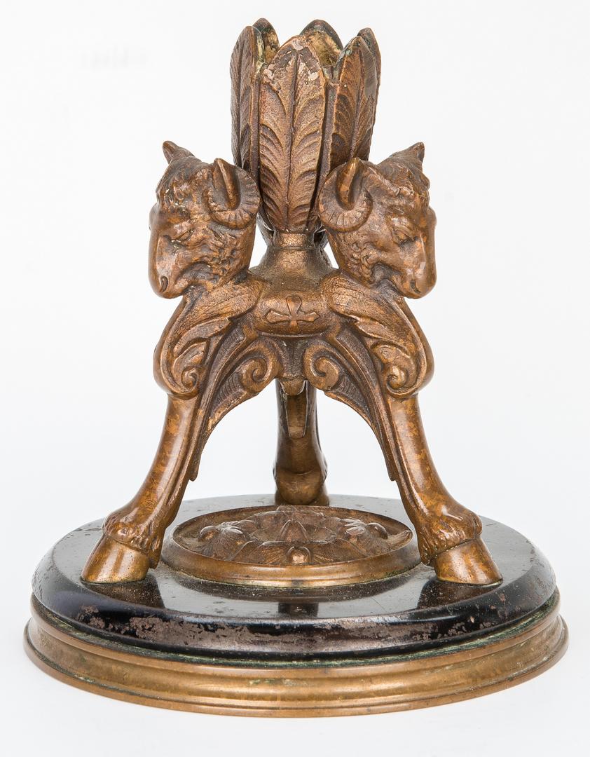 Lot 974: 3 Decorative Items, incl. Art Nouveau, Arts and Crafts