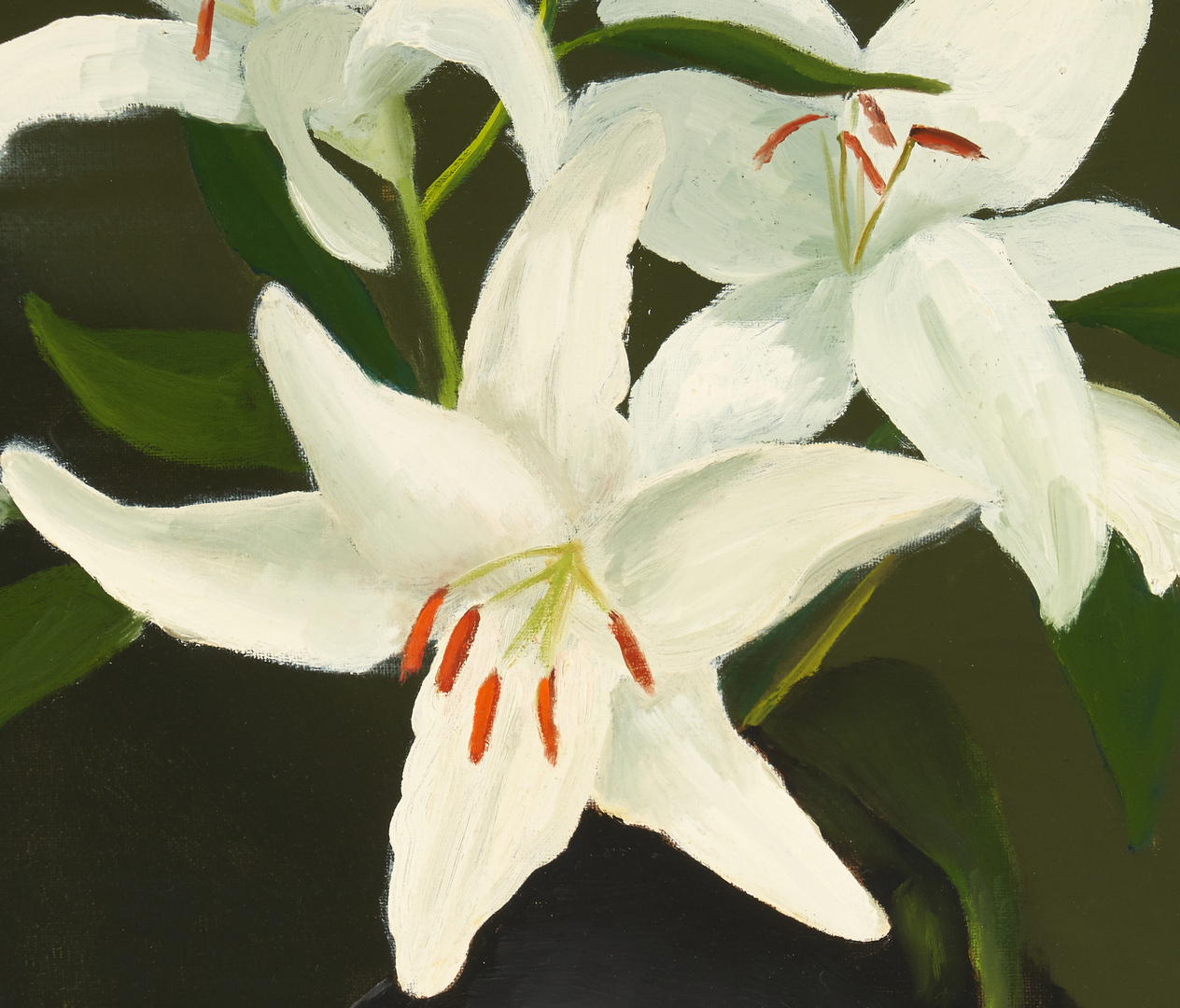 "Lot 982: Valleau Caruthers, O/C ""Lilies"""