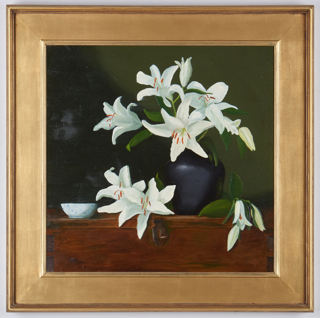 """Lot 982: Valleau Caruthers, O/C """"Lilies"""""""