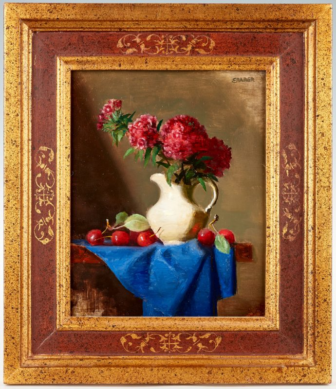 Lot 985: Ernest Baber, Small Still Life