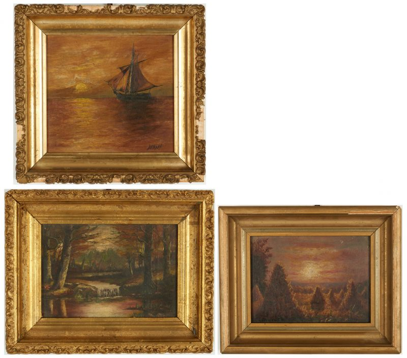 Lot 987: 3 Paintings, incl. KY Regional