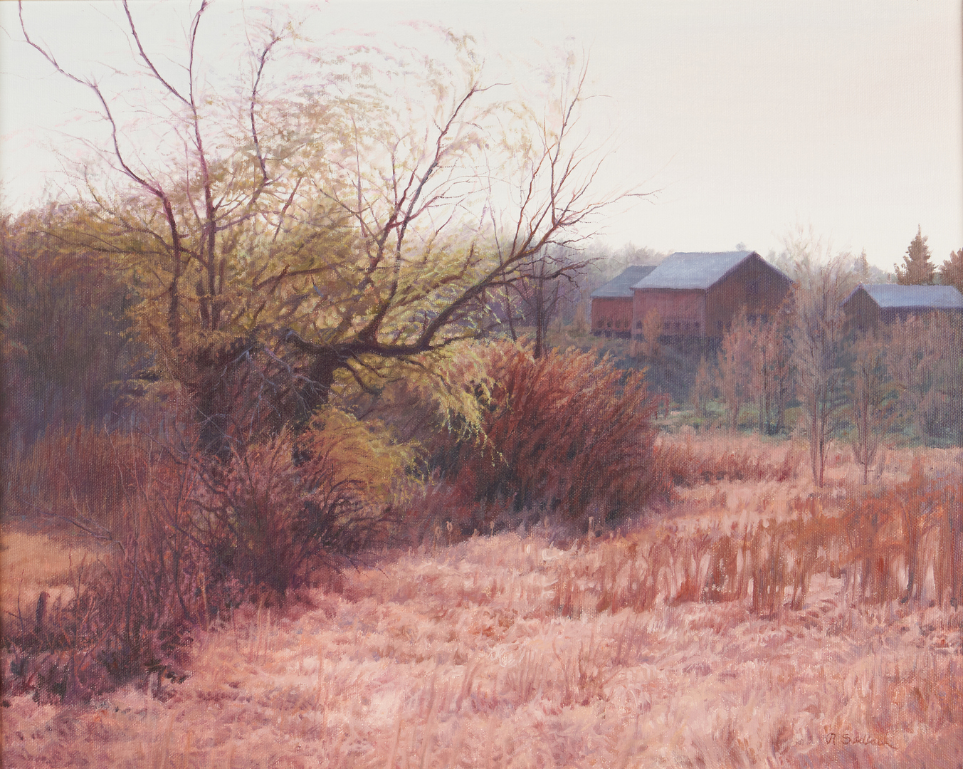 Lot 1011: Richard Sedlock O/C, The Willows