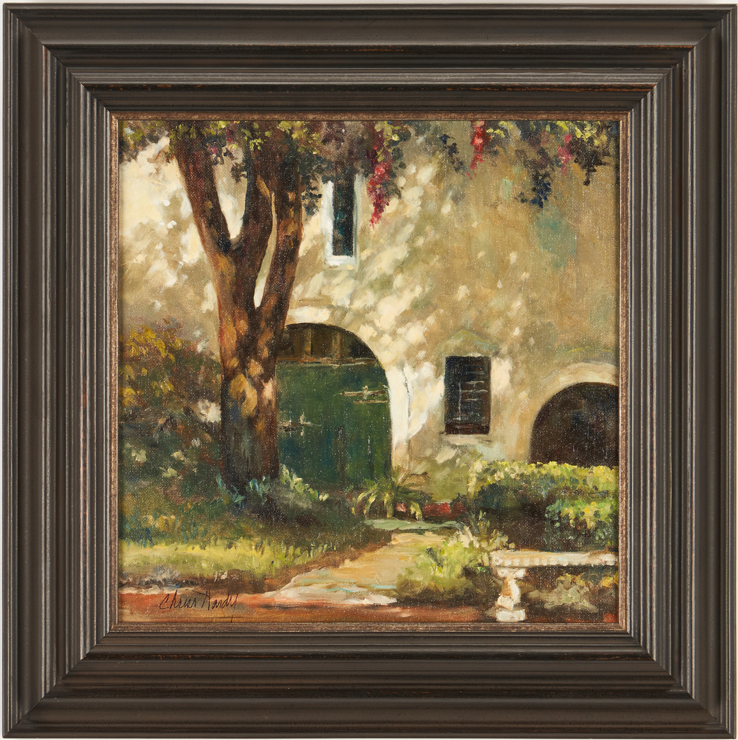 Lot 1013: Chriss Hardy O/C, Charleston Light & Shadow
