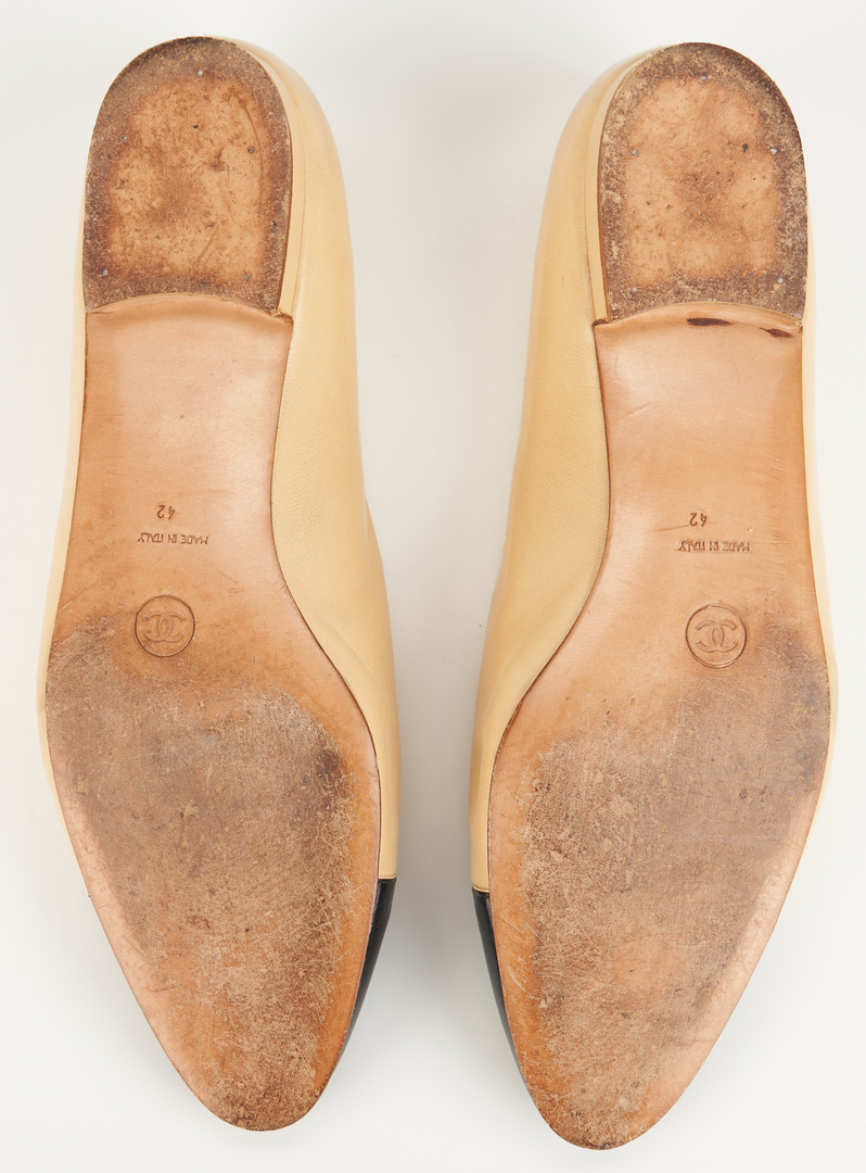 Lot 1024: 2 Pairs of Chanel Cap Toe Shoes
