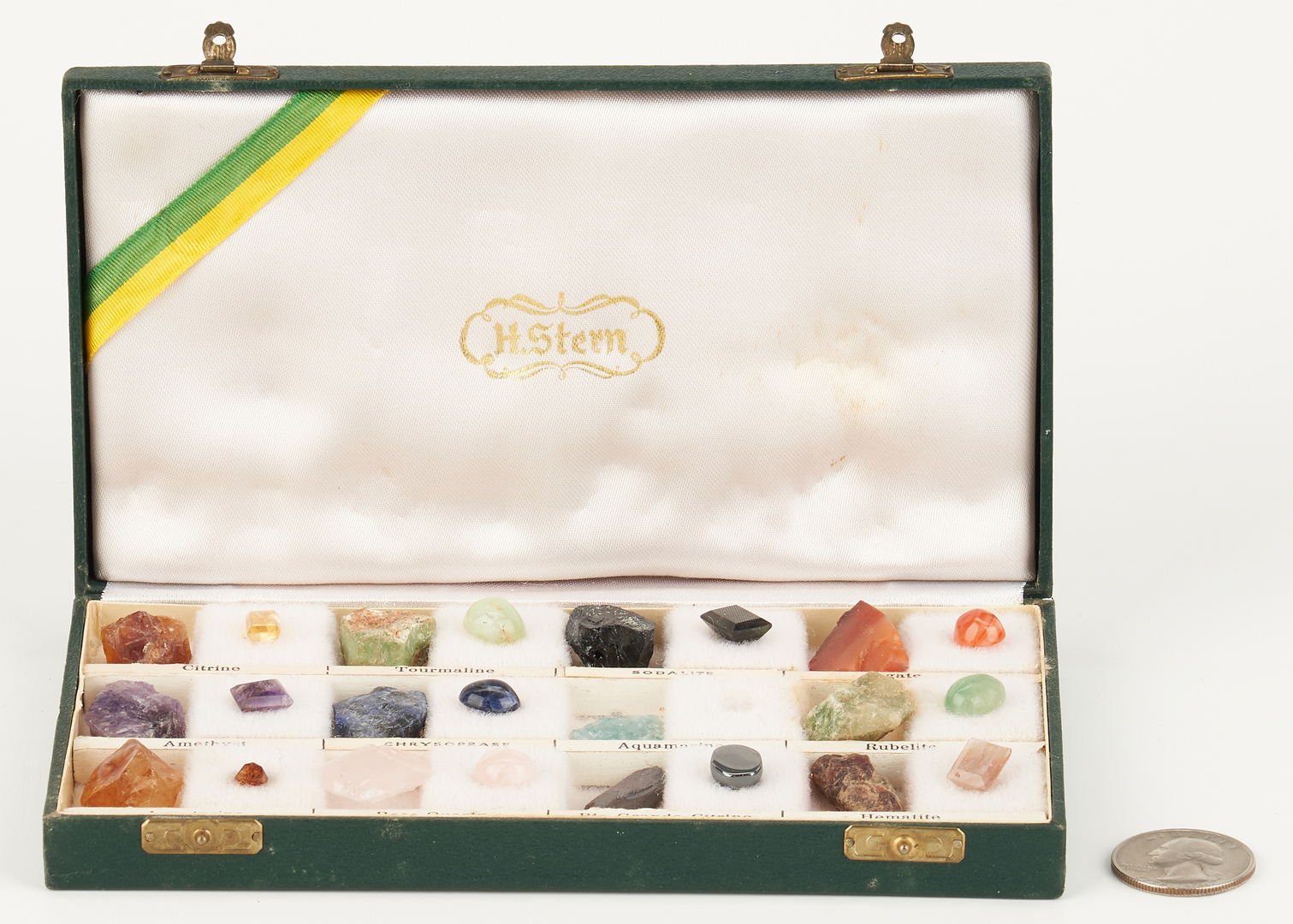 Lot 1043: H. Stern Gem and Mineral Sample Box
