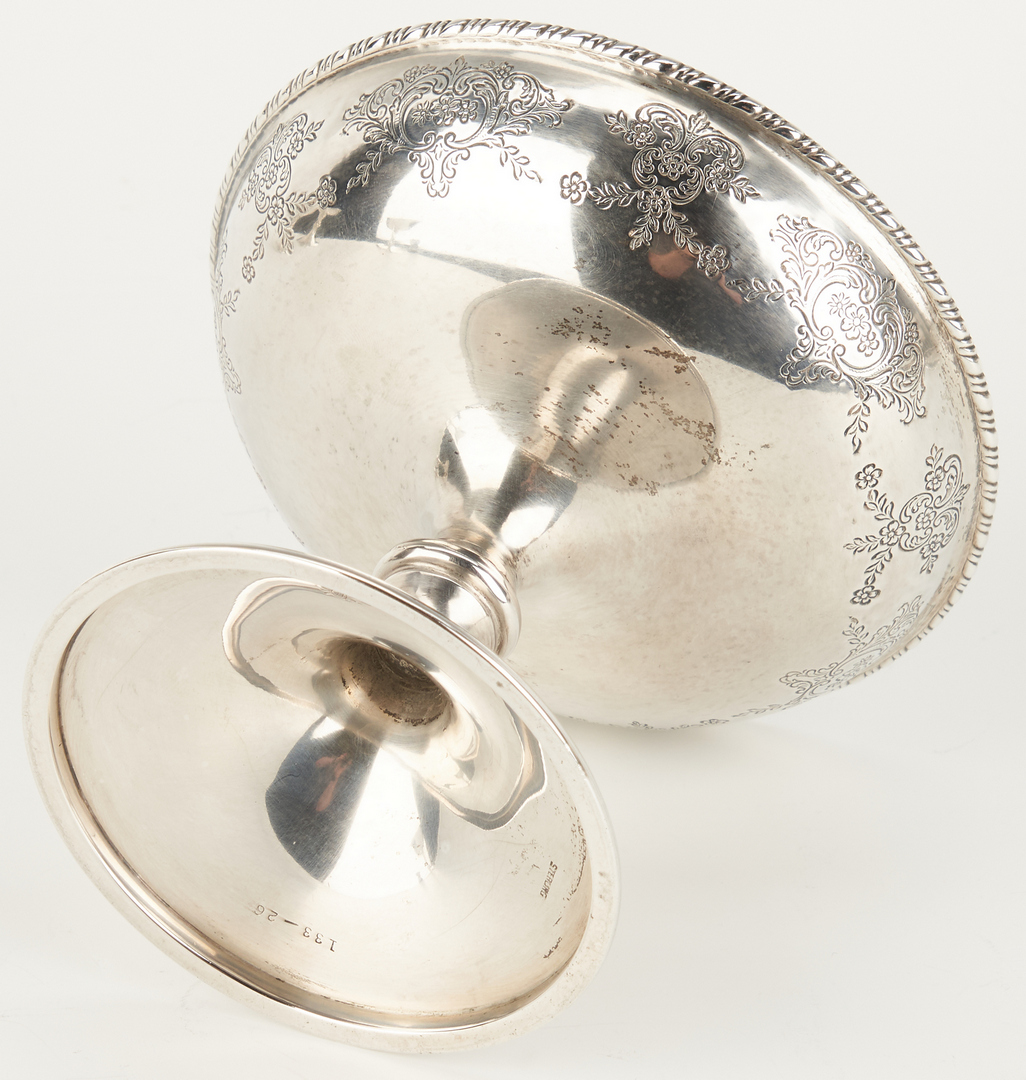 Lot 1047: 24 Assorted Sterling Sherbets, Butter Pats and More