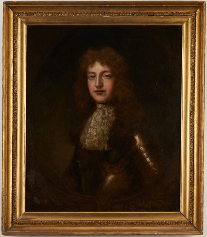 Lot 109: Portrait of Young Man in Armor