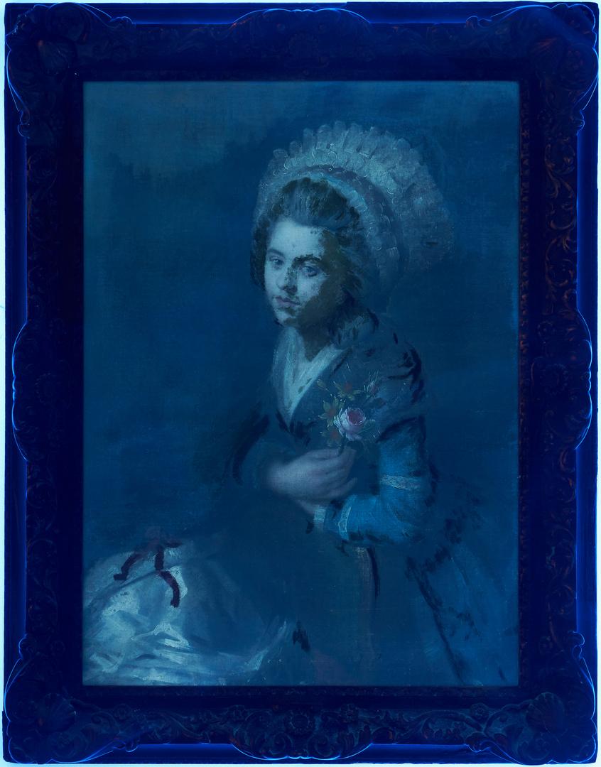 Lot 110: Manner of Jean-Marc Nattier, O/C Portrait of a Lady