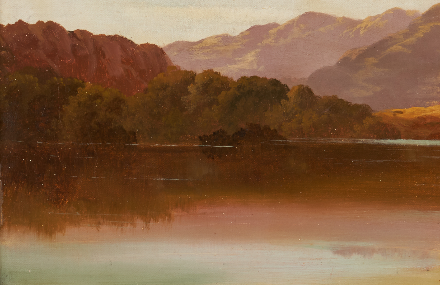 Lot 113: 2 Charles Leslie O/C English Landscape Paintings
