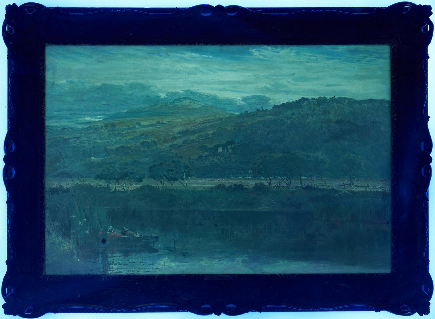 Lot 114: Benjamin Leader O/C, River Landscape